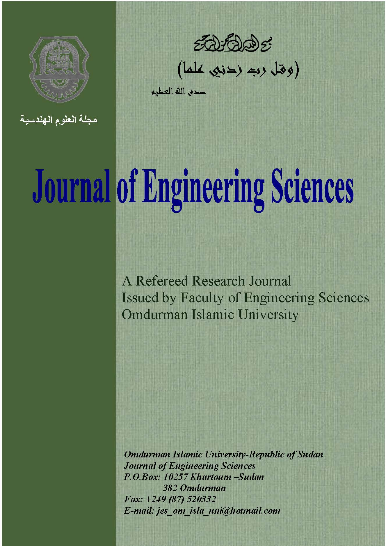 Design Fabrication And Testing Of Thermistor Detector Fes Journal Of Engineering Sciences